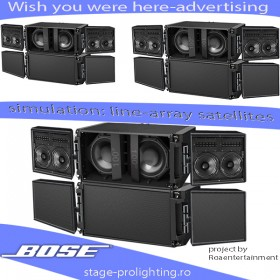 Advertising BOSE project by Roaentertainment