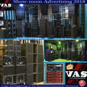 Advertising VASOUND Audio Factory (Show-room) 2018
