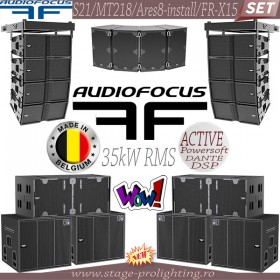 AudioFocus S21-MT218-Ares8-FR-X15 SET