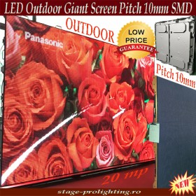 LED Outdoor Giant Screen Pitch 10mm SMD