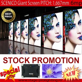 Scenico LED Giant Screen PITCH 1,667mm, 6mp