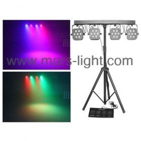 MS-407 LED Tricolor 4 Par