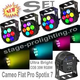 Cameo Flat Pro Spotix 7 SET