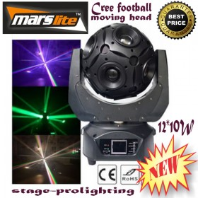 MarsLite 12*10W Cree football moving head