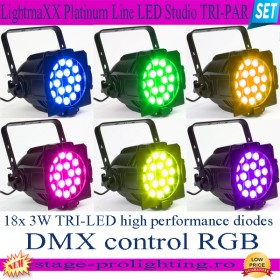 LightmaXX Platinum Line LED Studio TRI-PAR SET