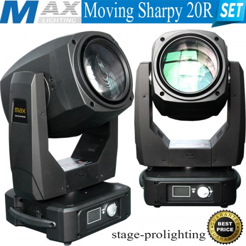 Max Lighting Moving Sharpy 20R SET
