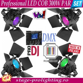 Professional LED COB 300W Par SET