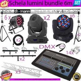 Schela lumini bundle 6m SET