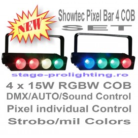 Showtec Pixel Bar 4 COB SET
