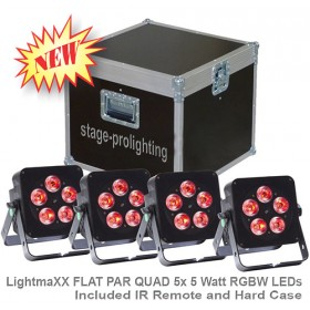 LightmaXX FLAT PAR QUAD SET