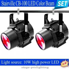 Stairville CB-100 LED Color Beam SET