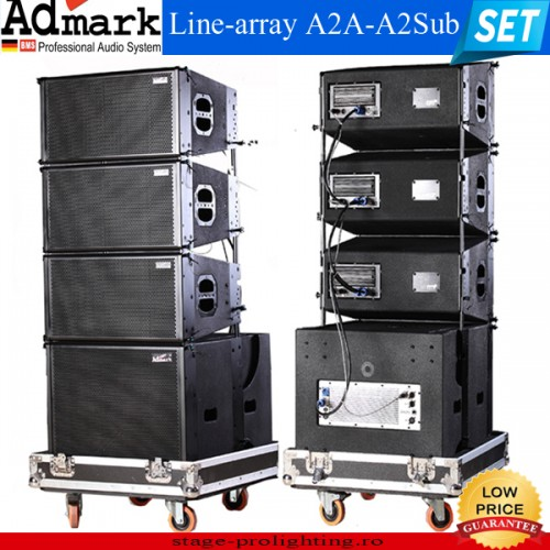 Admark Line-array A2A-A2Sub SET
