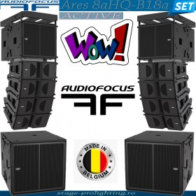 AudioFocus Ares 8aHQ-B18a active SET