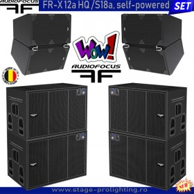 AudioFocus FR-X12aHQ-S18a, self-powered SET