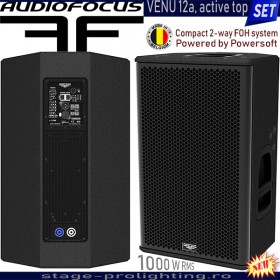 AudioFocus VENU 12a, active Top SET