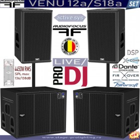 AudioFocus VENU 12a-S18a active SET3