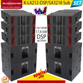 Audiocenter K-LA212-SDP90/SP2318 sub SET