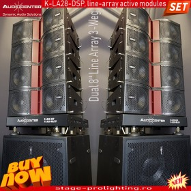 Audiocenter K-LA28-DSP 3-way, active line-array SET