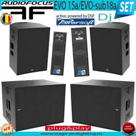 Audiofocus EVO active Set for DJ