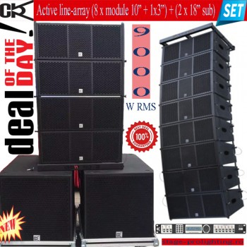 CVR Active line-array SET