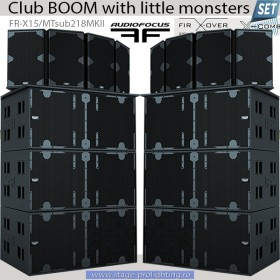 Club Boom with little monsters SET