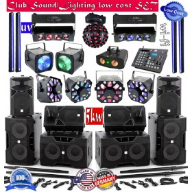 Club-Sound/Lighting-low cost-SET