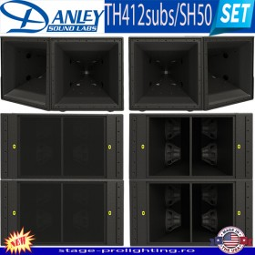 Danley TH412subs-SH50 SET