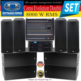 Dynacord Corus Evolution Double SET