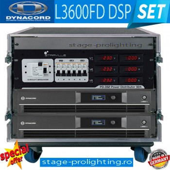 Dynacord new PA L3600FD DSP for XA-2PRO SET