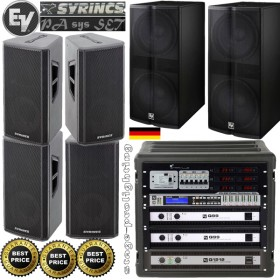 Electro Voice/Syrincs PA Sys SET