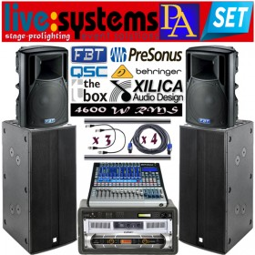 Live System PA Event solutions SET
