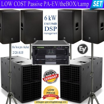 Low Cost passive PA-EV/theBox pro/t.amp SET