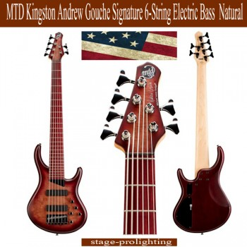 MTD Kingston Andrew Gouche Signature 6-String Bass