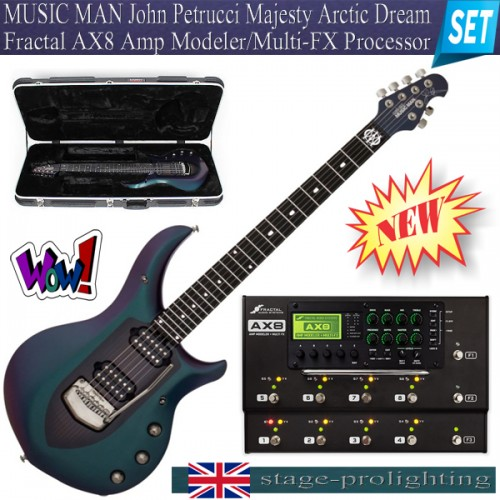 MUSIC MAN Guitar - AX8 Amp Modeler/Multi-FX Processor