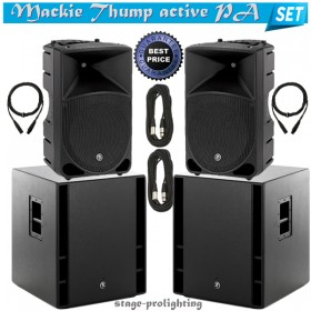 Mackie Thump active PA SET