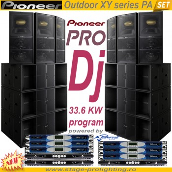 Pioneer Outdoor XY series PA SET