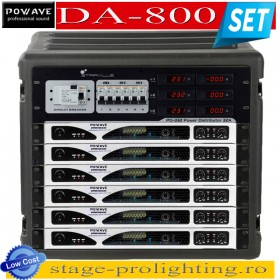Powave DA-800 power amplifiers SET
