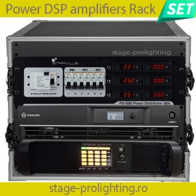 Power DSP Amplifiers Rack