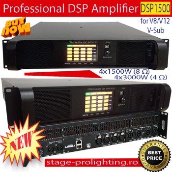 Professional DSP Amplifier for V series