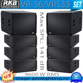 RKB VR-36 & VRS33 line-array SET