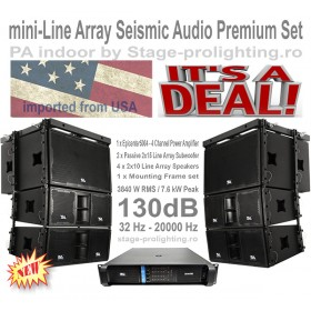 Seismic Audio Line Array Premium Set