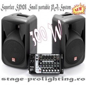 Superlux SP108, Small portable PA-System
