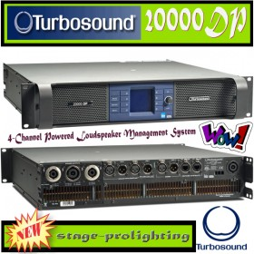 Turbosound 20000DP, 4-Channel Powered Management System