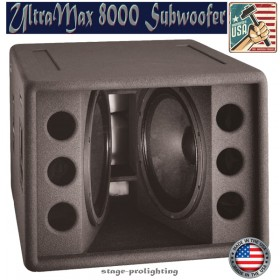 UltraMax 8000 subwoofer