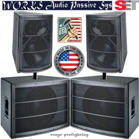 WaveSeries 2AX/18S PA SET