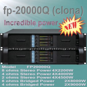 FP 20000Q 4ch Power amplifier (clone)