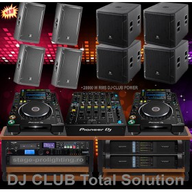 DJ Pro Club 20kW RMS Total Solution