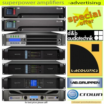 Superpower amplifiers -Advertising