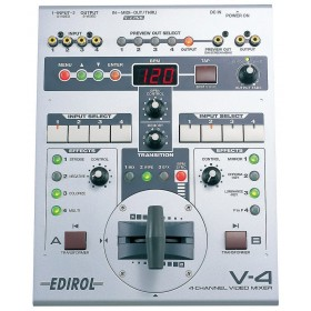Edirol V4, mixer video