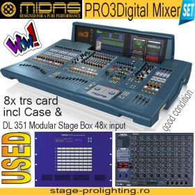 MIDAS PRO 3 Digital Mixer SET